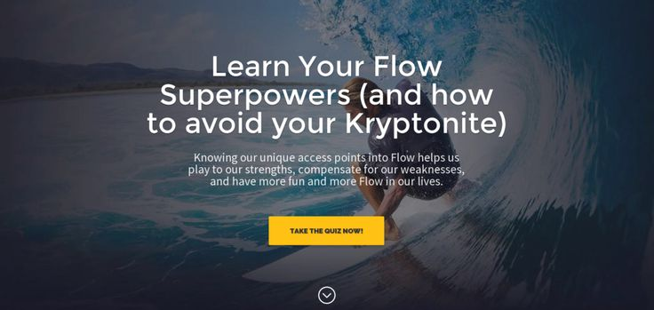 Powerful home page at the Flow Genome Project!