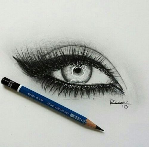 that pencil on the bottom of the eye is driving me nuts! but LLLOOVVEE the eye sooo much i pinned it anyway.