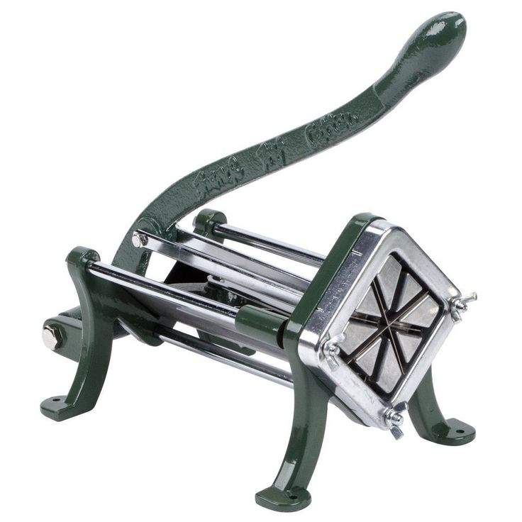 Choice Potato Wedge Cutter - 8 Wedge French Fry Cutter / Slicer #Choice