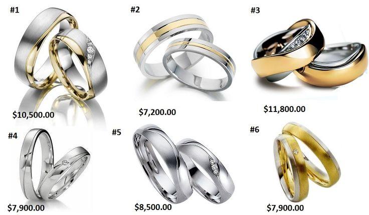Argollas de matrimonio, amsi.com.mx