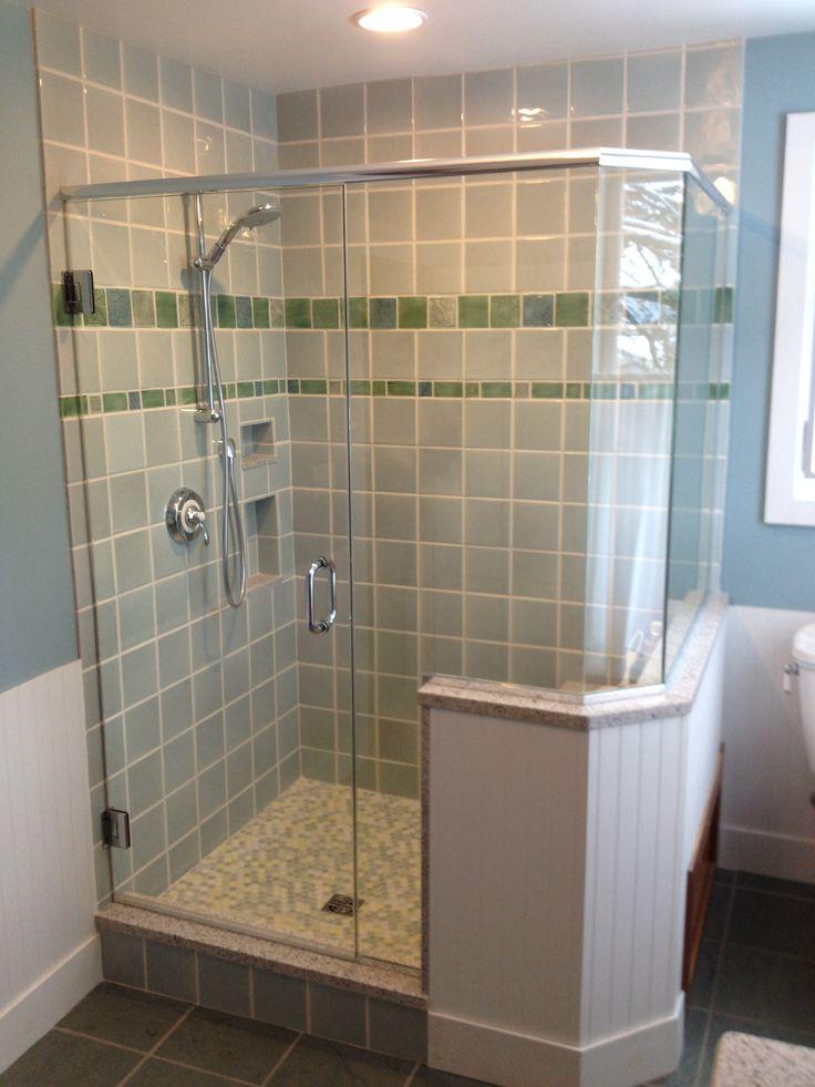 17 best images about shower door tub enclosure ideas on pinterest custom shower doors - Shower enclosure ideas ...
