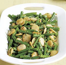 Sautéed Green Beans with Water Chestnuts and Ginger
