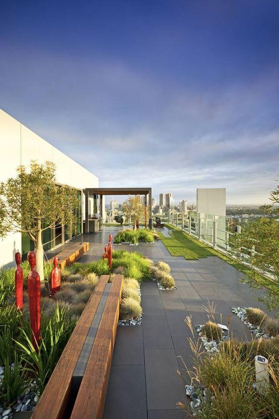 Top Floor Garden Roof Terraces