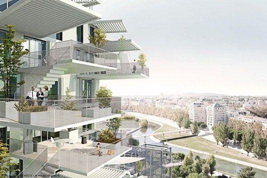 Montpellier ist mutig:Kaum eine andere Metropole lässt Architekten so viel Freiraum. Sou Fujimoto baut am Lez mit L' Arbre Blanc einen Wohnbaum in Weiß.