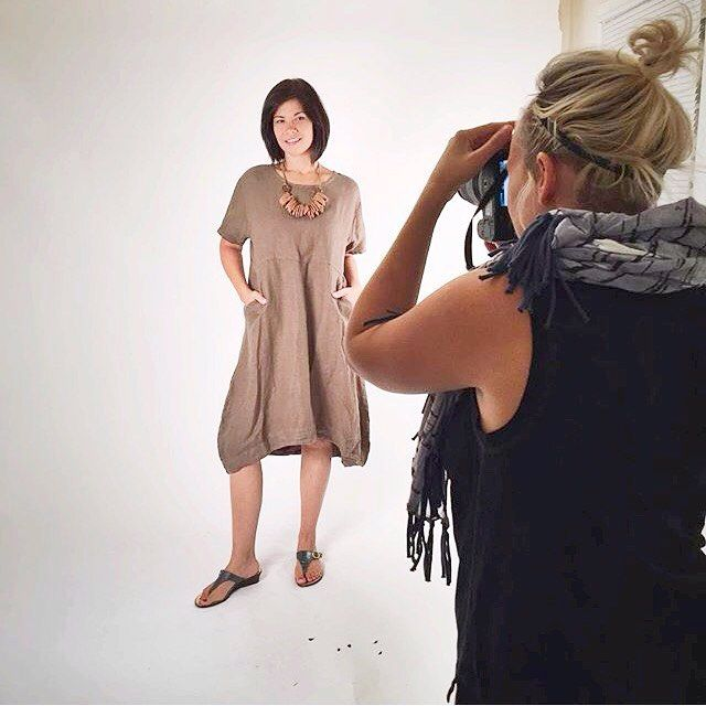 Shooting Bryn Walker spring 16 today at our studio! #brynwalker #spring #fashion #nyfw #photoshoot #newhaven #yale #womensfashion #womenswear #linen #style #lagenlook #dress #ootd #springahead #2016 #summertime