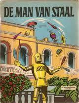 oude strip boeken de man van staal - Google Search
