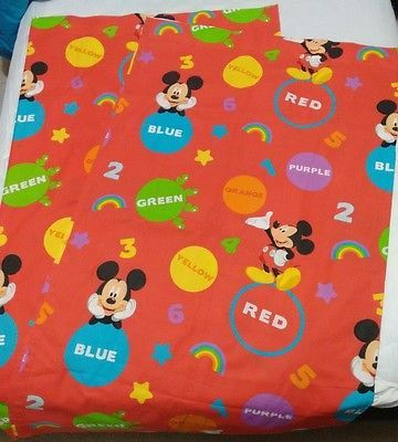 1000 ideas about mickey mouse curtains on pinterest red - Mickey mouse clubhouse bedroom curtains ...