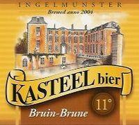 Een romig, donker sterk bier. Het bruin kasteelbier is een donker, artisanaal bier zacht en mild, vol en romig.