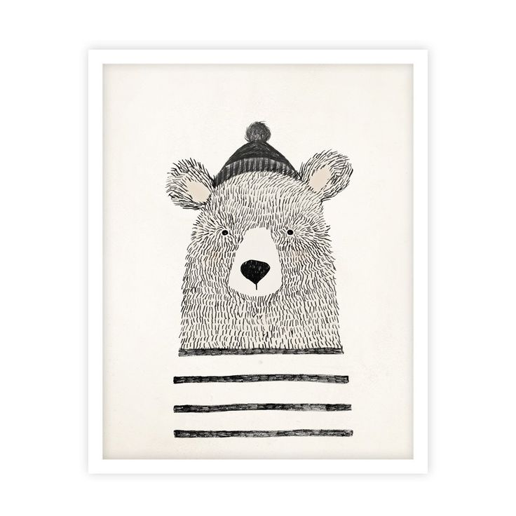 Winter Bear Print – ryleeandcru