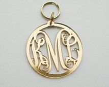 Love monogram keychains! perfect to personalize your bag with your initials !