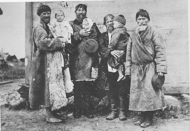peasants of mid-Volga region, c. 1885