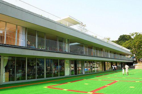 幼稚園建物 | 「大倉山アソカ幼稚園」−ふじようちえんに続く、手塚事務所 ...