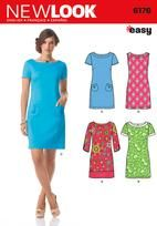 Misses' Dress with Sleeve Variations