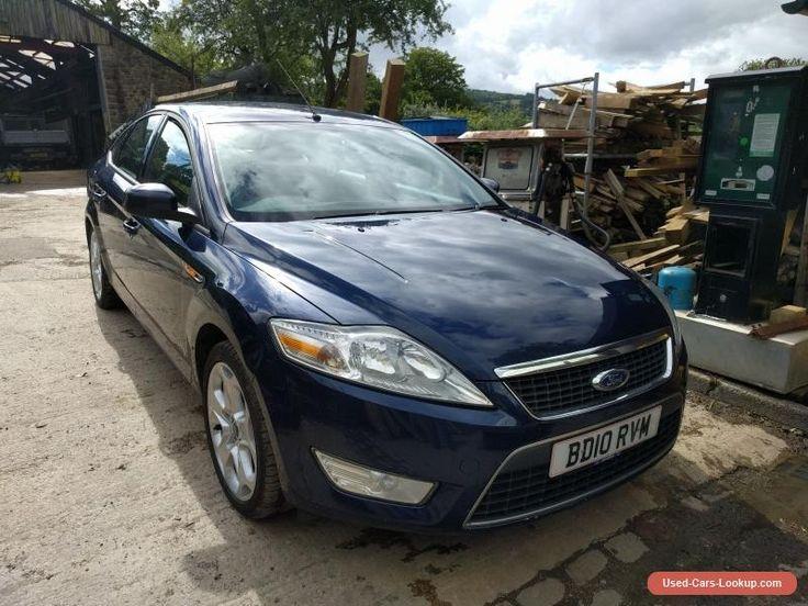 Ford Mondeo Zetec TDCI 2L 10 reg Diesel Blue Low milage #ford #mondeo #forsale #unitedkingdom