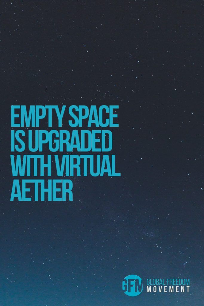 """""""The message is"""", in the pioneering Harold Aspden's words, """"[a]ccept the aether is real and has structure and you can understand how matter is created—but ignore the aether and you live in ignorance!"""" 