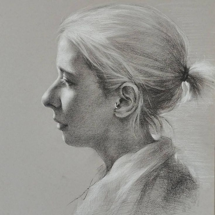 разноцветные профиль портрет карандашом картинки квадратных метра, крест