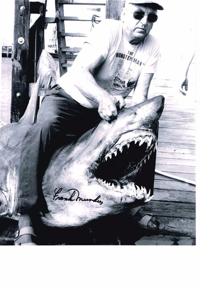 Frank Mundus Personally Signed Autograph Photo, Collection