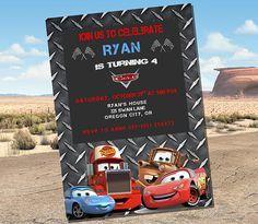 Cars Birthday Invitations Cars Birthday Cars Birthday Party