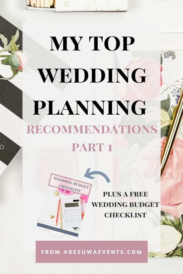top wedding planning recommendations part 1 in 2018 wedding