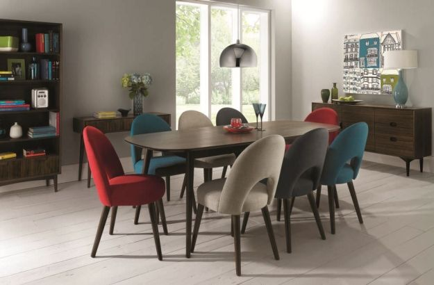 Bentley Upholstered Dining Room Chairs Boxed