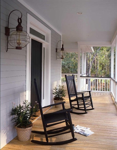 romantic country porch
