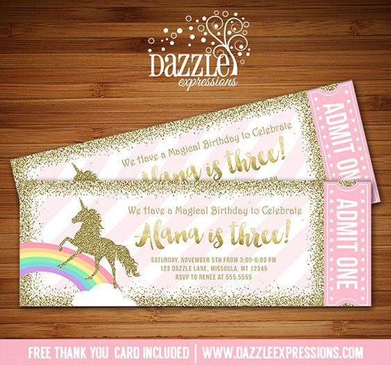 Pony Party Invitation with best invitations layout
