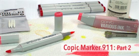 Copic Marker Maintenance Part 2: Refilling and Cleaning