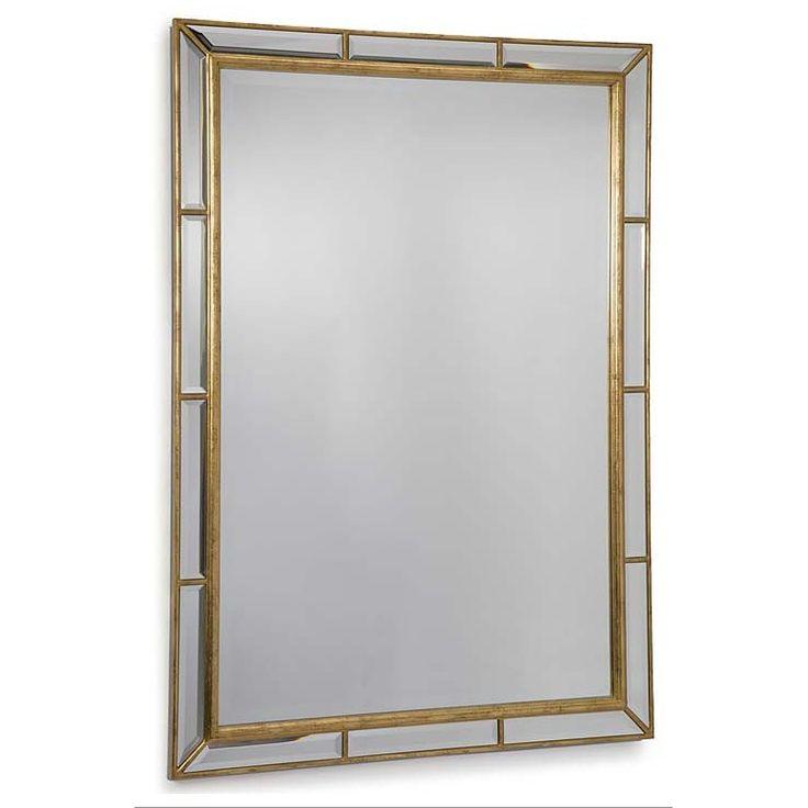 1l x 29w x 41h $423  Plaza Beveled Mirror by Regina Andrew.