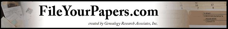 Organize your Paper Files using the Legacy Family Tree method #genealogy