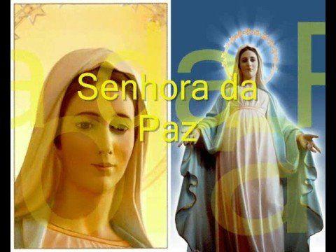 Maria de Deus, Senhora da paz (Legendado) - YouTube