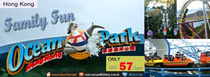 Ocean Park - Hong Kong http://liburyuk.com/bookitem/93/2013-07-11  #OceanPark #LiburYuk #Holiday #AbbeyTravel #Jalan2 #Hongkong #Macau