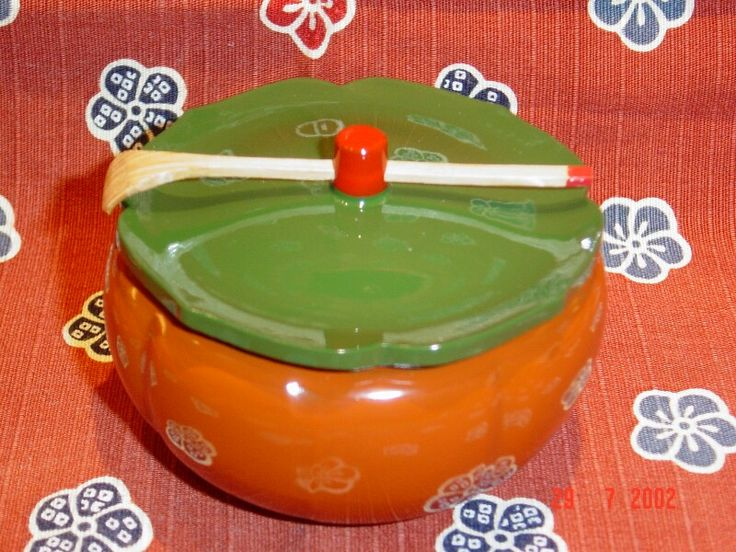 Japanese - Pumpkin Container