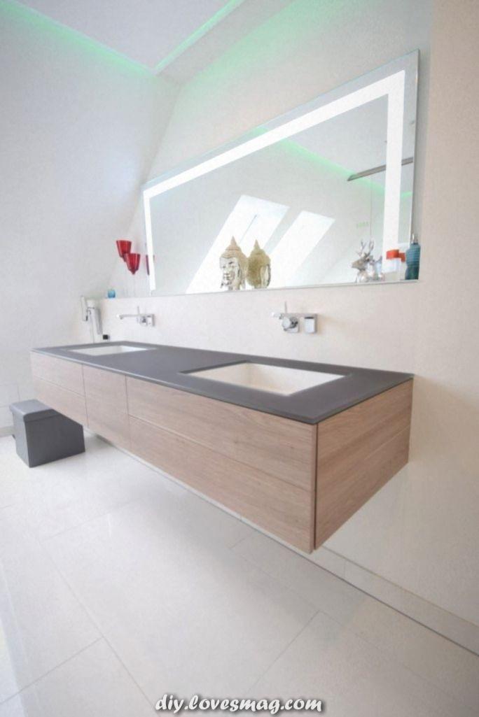 Damit Dieser Badezimmerspiegel Zum Waschbecken Von Alape Unter