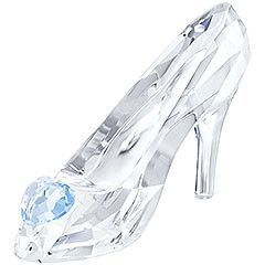 Cinderella's Slipper Inspired by the Disney fairytale Cinderella, this design is crafted in clear crystal and embellished with a heart in blue crystal. It matches perfectly with Cinderella, Limited Edition 2015. Decoration object. Not a toy. Not suitable for children under 15. Article no.: 5035515
