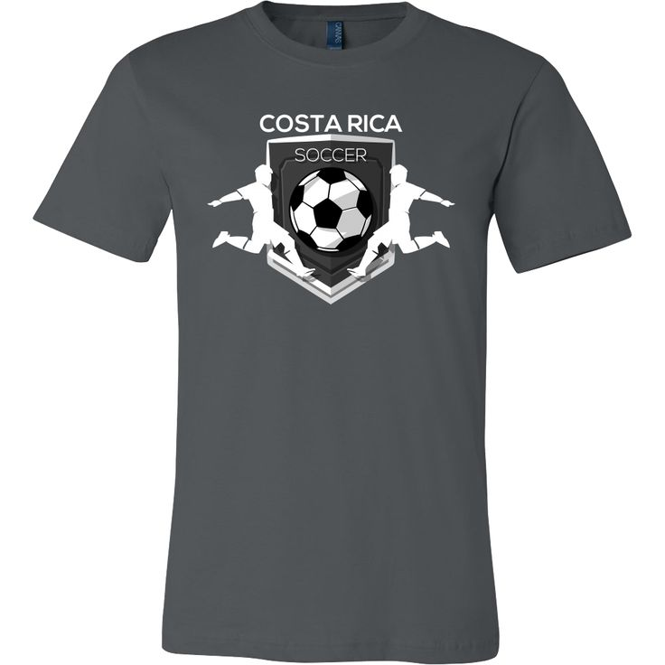 Soccer, Costa Rica Sports Flag T-shirt Costa Rican
