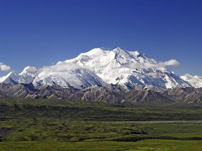 Mount McKinley , Denali Nemzeti Park, Alaszka -
