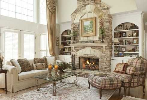 Fireplace Built Ins Designs | The Stone Surround Fireplace With Built Ins . . . Have It YOUR Way!