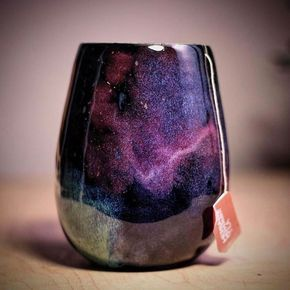 Space galaxy coffee mug.