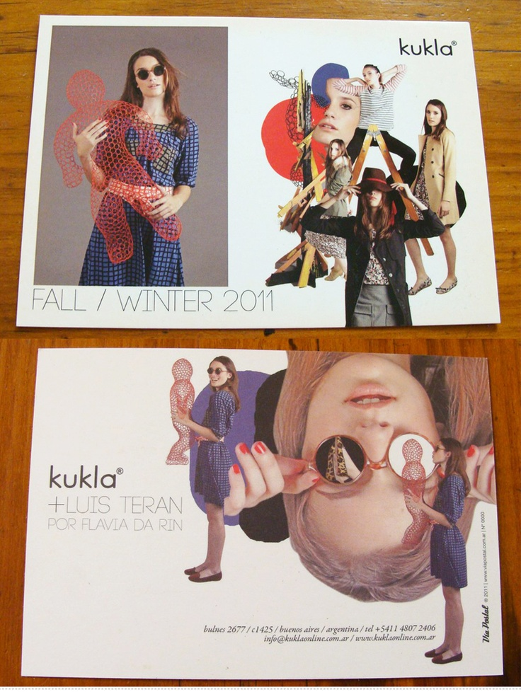 Diseño de Postal para Kukla