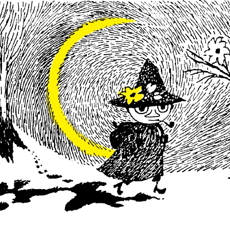 "snufkin — tove jansson ""Everything gets so difficult if you want to own things. You have to carry them around and watch over them. I just look at them, and then when I continue on my way I can remember them in my head. I prefer that to dragging a suitcase."" --snufkin"