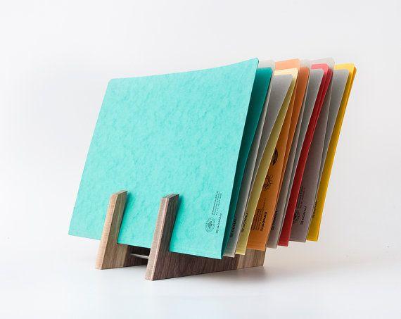 File Organizer / File Holder / File Storage / Desk by lessandmore