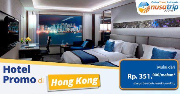 Siapa yang berencana untuk berlibur ke Hong Kong, Traveler? Pesan #hoteldiHongKong melaluin website #NusaTrip nikmati #hotel yang nyaman mulai dari Rp. 351ribu/malam (harga terus berubah) segera pesan di http://goo.gl/vbmF78