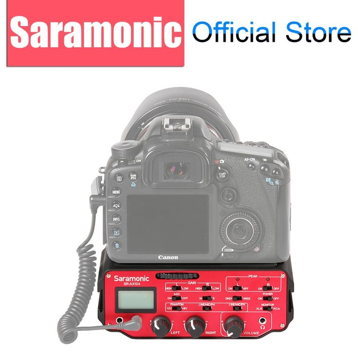 169.95$  Watch here - http://alipdb.worldwells.pw/go.php?t=32455812228 - Saramonic SR-AX104 2-channel XLR Microphone Audio Adapter Mixer with Preamplifiers and Phantom Power for DSLR Cameras 169.95$
