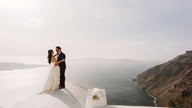 Santorini Elopement by Benj Haisch