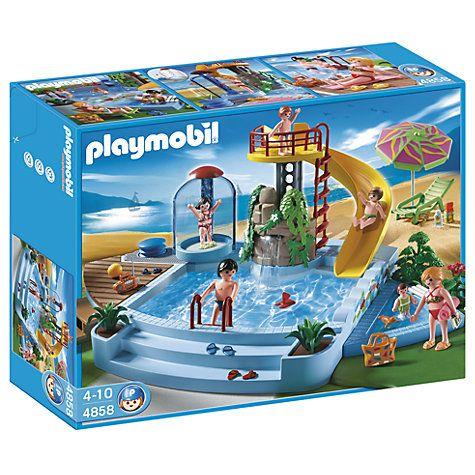 Buy Playmobil Pool and Water Slide Online at johnlewis.com £16.83 GOT