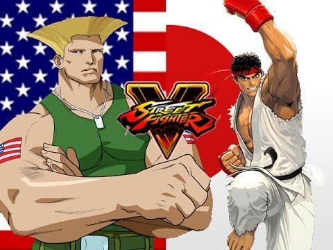 GUILE VS RYU ARMY:  Guile - Street Fighter 5 (Online Matches)
