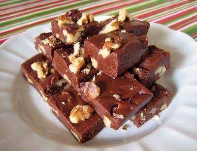 Foolproof Holiday Fudge | Goose is Getting Fat | Pinterest