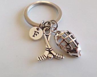 Ice Hockey keychain gift