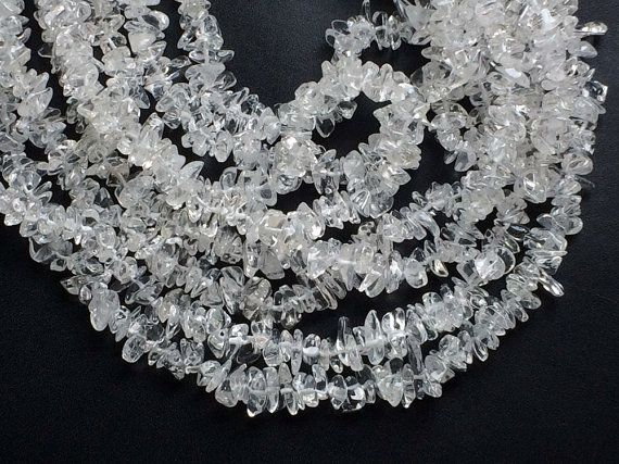 Crystal Chips Crystal Beads Natural Crystal Chips by gemsforjewels