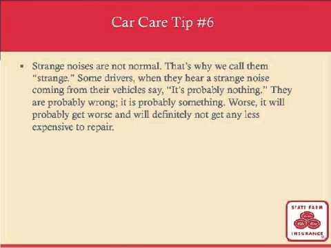 Check out our car care tips brought to you by our friends at Sant Automotive for National Car Care Month!